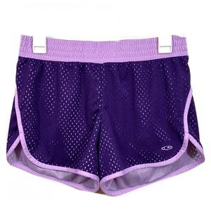 Champion Lined Mesh Athletic Running Shorts